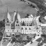 Denkmalzone ehem. Augustiner-Chorherrenstift. Luftbild, ca. 1930
